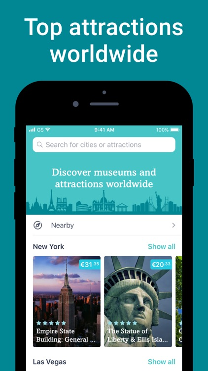 Tiqets - museums & attractions screenshot-0