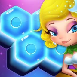 Flower Secret - Hexagon Block Puzzle