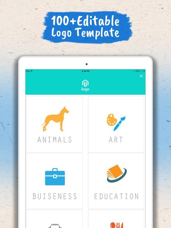 Screenshot #1 for Logo Maker - Logo Creator .