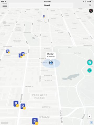 Roadi App - náhled