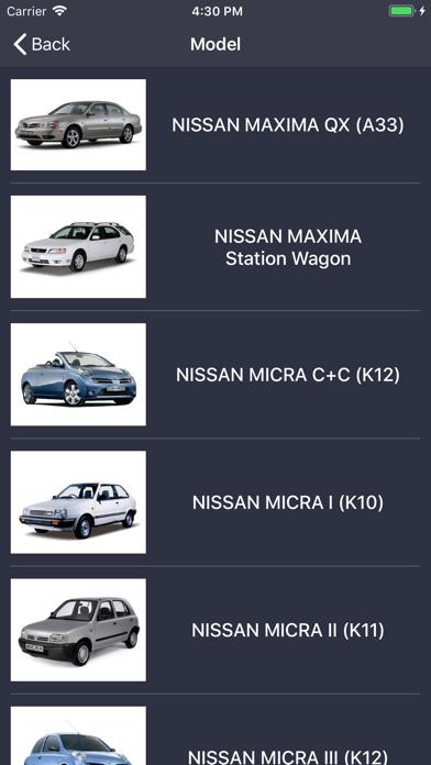 TechApp for Nissan Screenshot