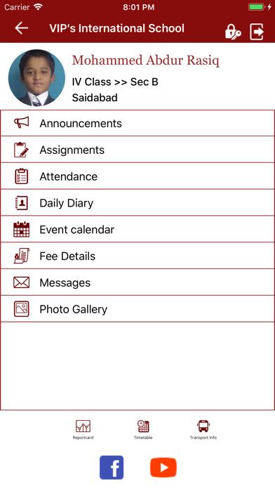 VIP's Parent Portal screenshot 4