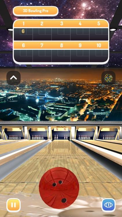 3D Bowling Pro -Ten Pin Strike screenshot-8