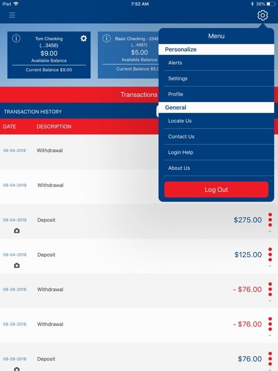 County Bank BIZ for iPad screenshot-4