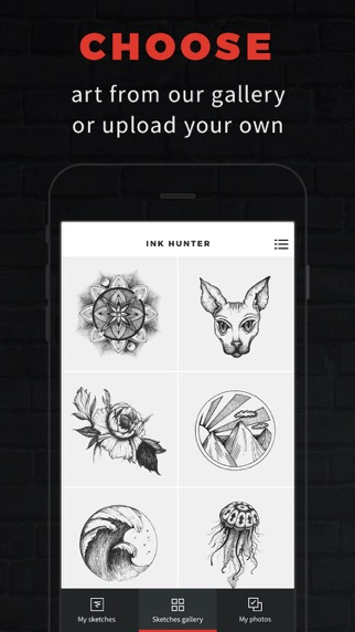 INKHUNTER Try Tattoo Designsのおすすめ画像1