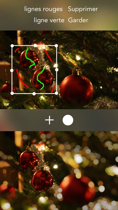 Screenshot #2 pour Speckle - Lens bokeh