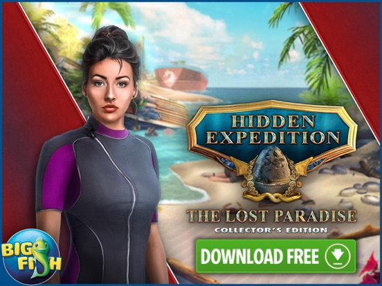 Hidden Expedition: The Lost Paradise - Hidden screenshot 10
