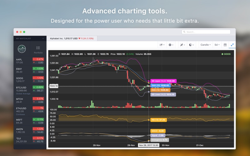 Stockfolio - Stocks Portfolio Screenshots