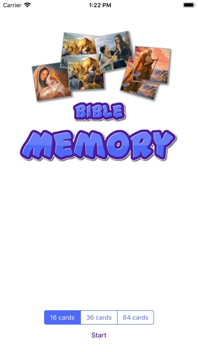Screenshot for Bible Card Memory in United States App Store