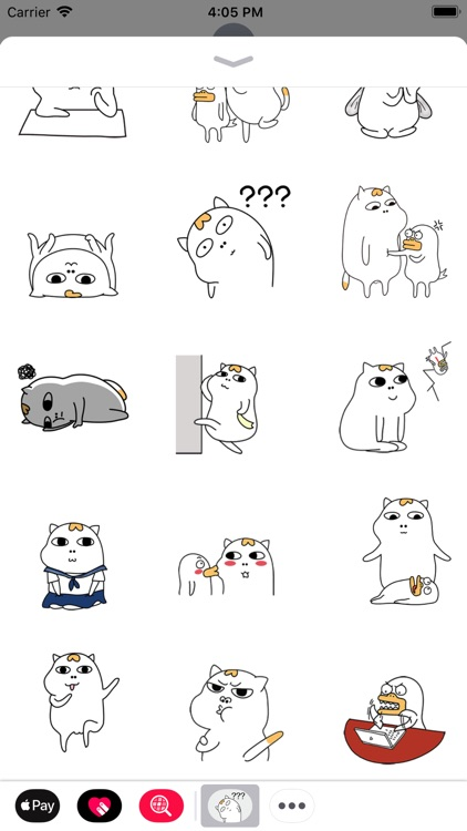 Crazy Cat Animated Stickers