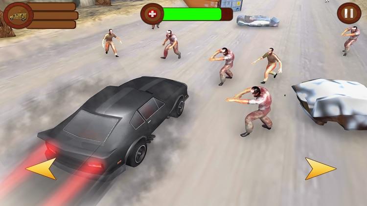 Zombie Roadkiller Highway Race screenshot-3