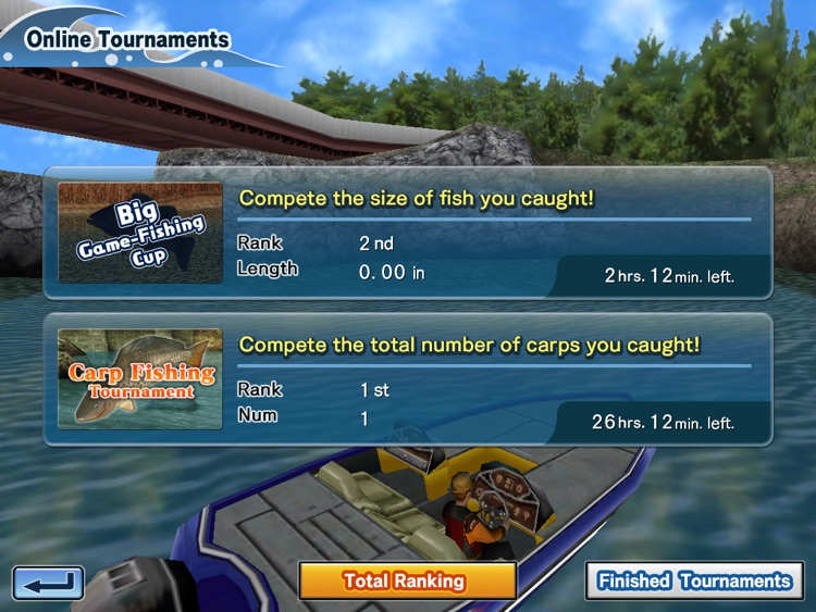 Bass Fishing 3D HD Premium screenshot-1
