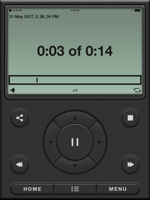 Voice Recorder PRO, Memos Screenshots