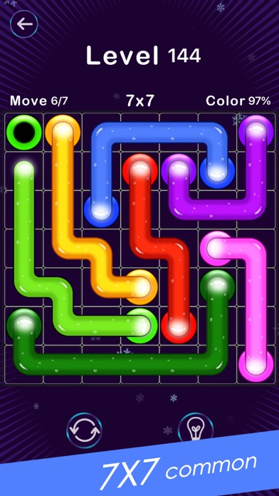 Screenshot for Color Line -Fill Block Puzzle in Argentina App Store