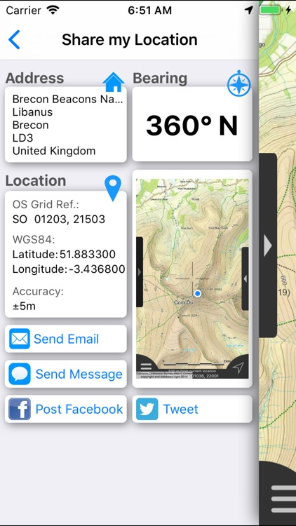 Brecon Beacons Maps Offline screenshot-7
