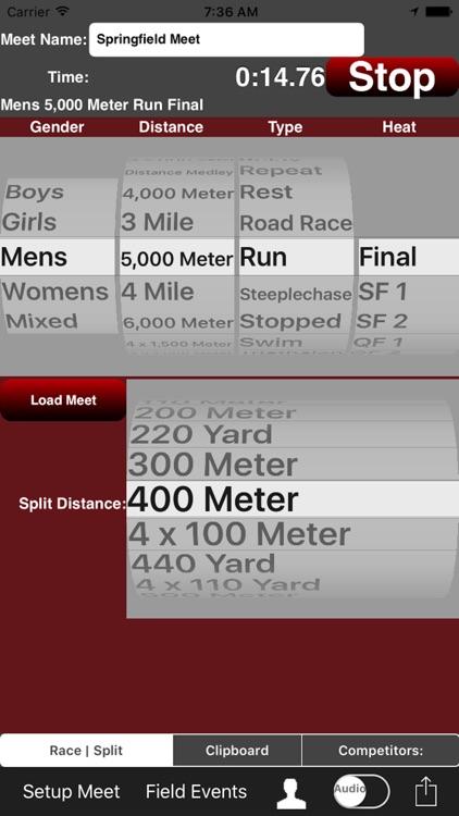 Running Coach's Clipboard iPhn screenshot-0
