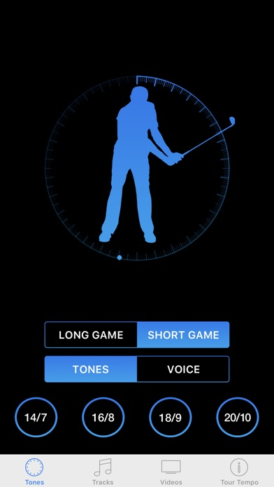Screenshot for Tour Tempo Total Game in United States App Store