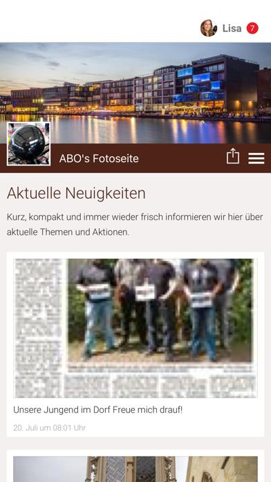 ABO's Fotoseite screenshot 1