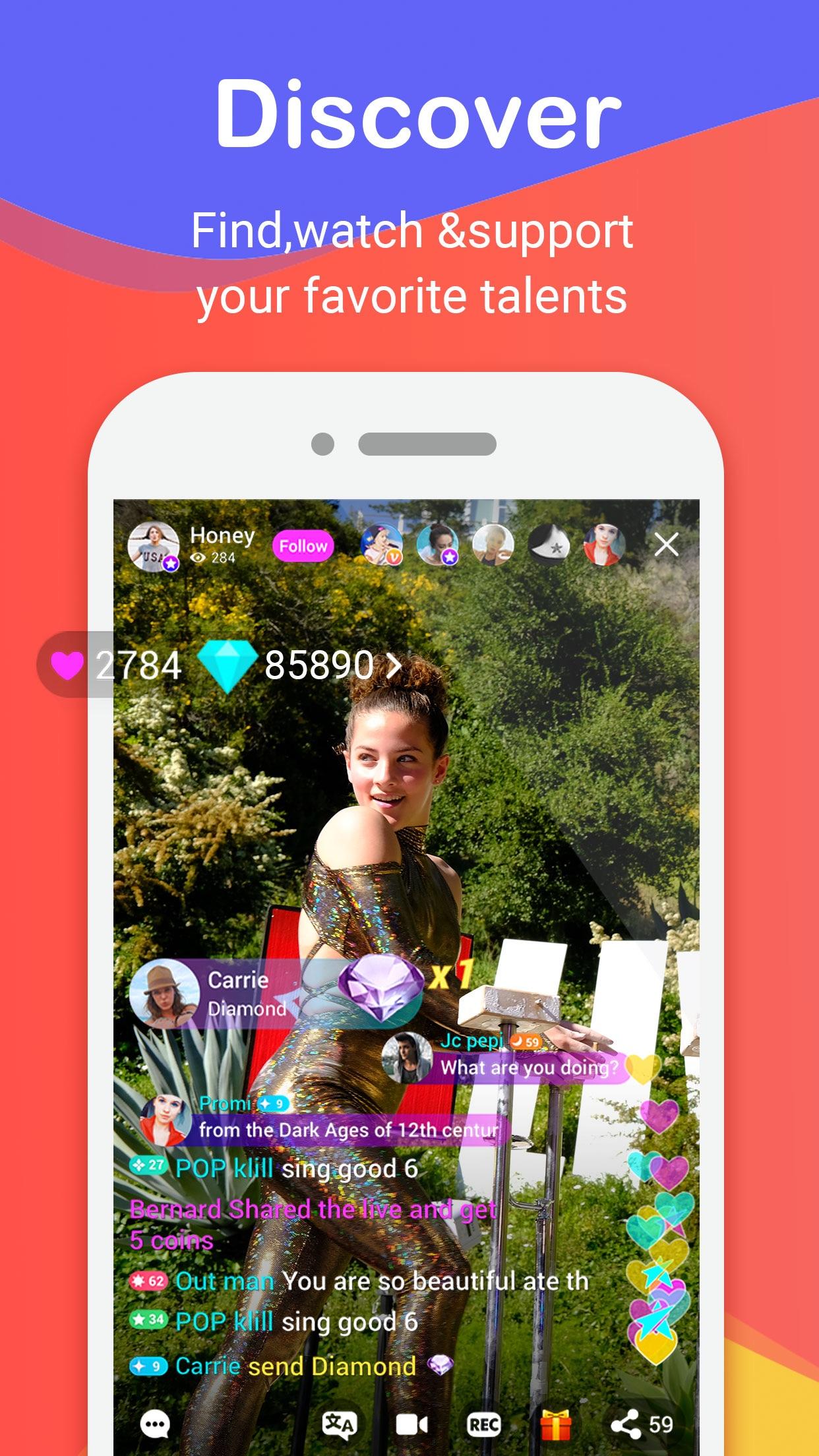 Live.me – Live Video Chat Screenshot