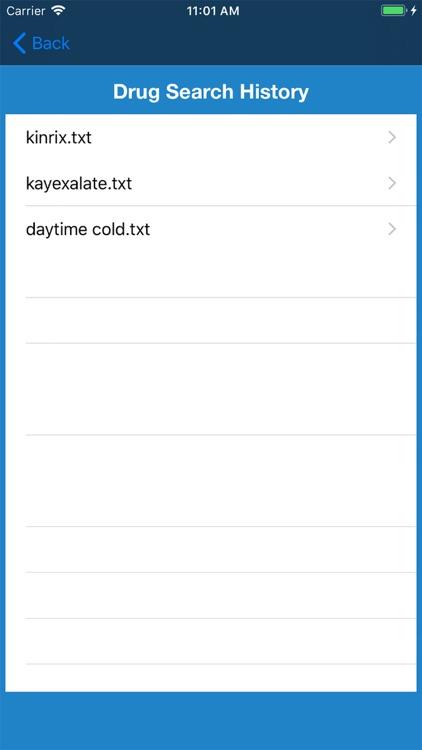 Drugs Dictionary Offline Mode screenshot-3