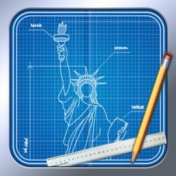 Ícone do app Blueprint 3D