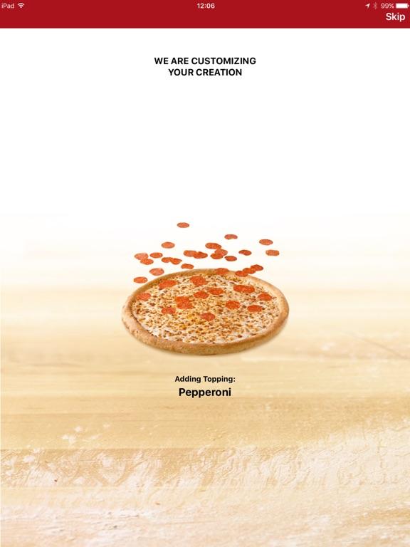 Screenshots of Papa John's Pizza for iPad