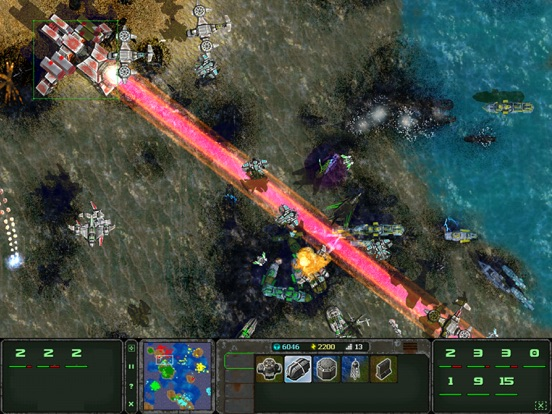 Screenshot #4 pour Land Air Sea Warfare HD