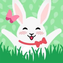 Moji Bunny Stickers