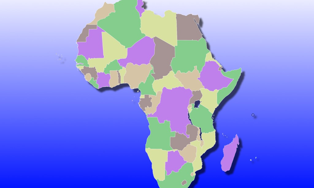 Africa Map Quiz for Apple TV by Peaceful Pencil Ltd., The