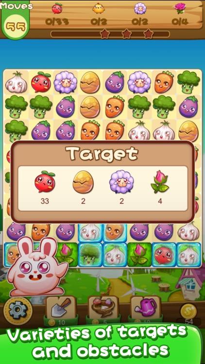 Farm Pop Fun - Match 3 Games