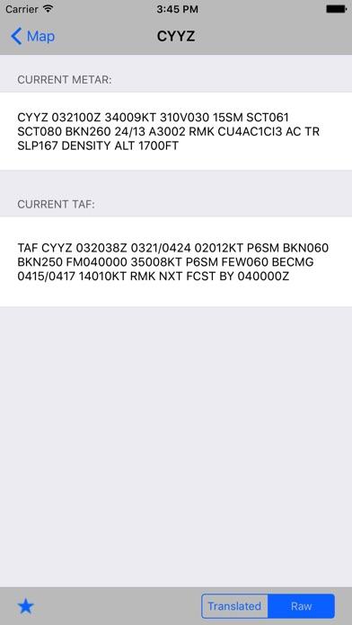 Flight Weather review screenshots