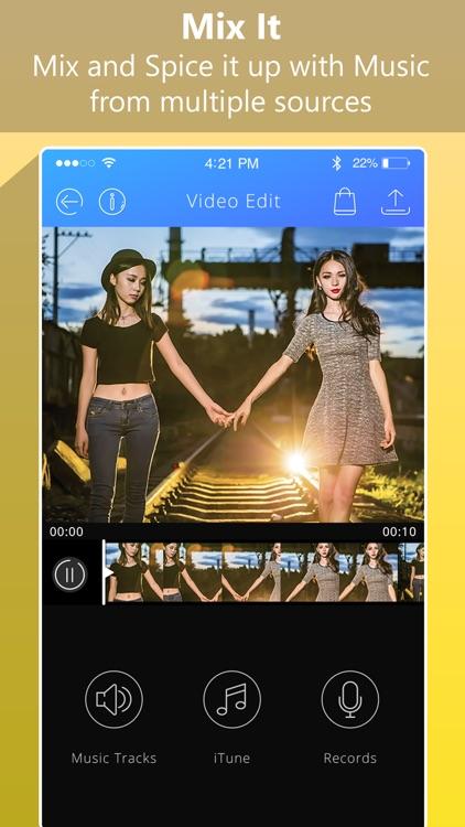 Video Editor: Add Music Video screenshot-3