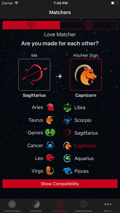 Horoscope Pro review screenshots