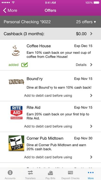 1ST SUMMIT Mobile Banking screenshot-4