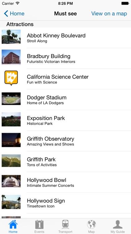 Los Angeles Travel Guide OL screenshot-3