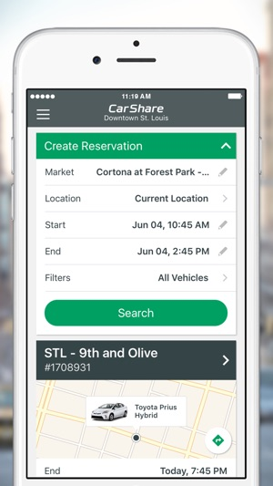 Car Share Enterprise Overnight