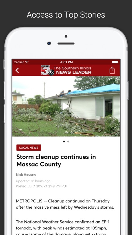 WSIL-TV News 3 screenshot-1