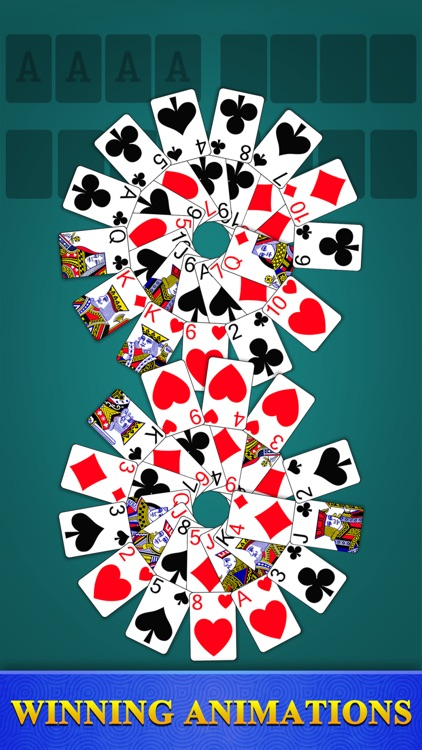 Freecell Solitaire - Card Game screenshot-4