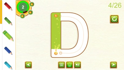 ABC Learning Tracing Letters screenshot two
