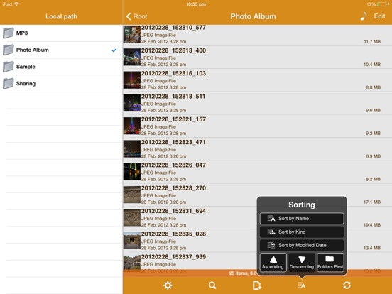 Screenshot #5 pour AirDisk Pro