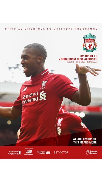 Liverpool FC Programmes screenshot-3