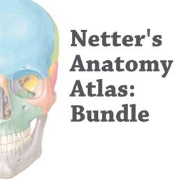 Netter's Anatomy Atlas: Bundle