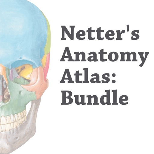Netter's Anatomy Atlas: Bundle iOS App
