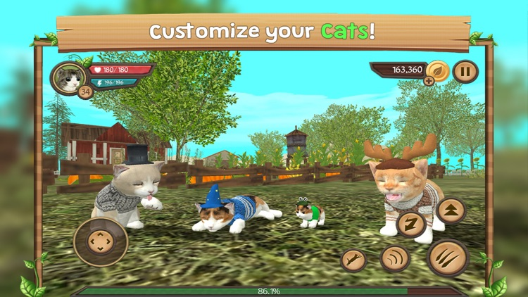 Cat Sim Online: Play With Cats screenshot-4