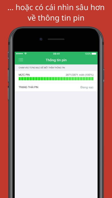 Screenshot for Battery Life: check runtimes in Viet Nam App Store