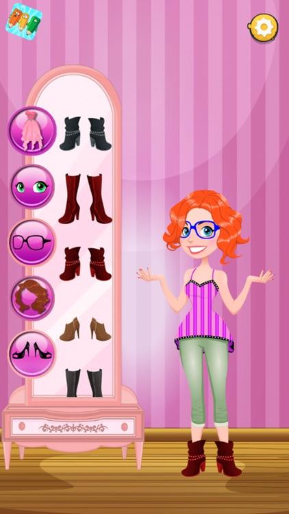 Girl Dress up & Dishwashing screenshot-3