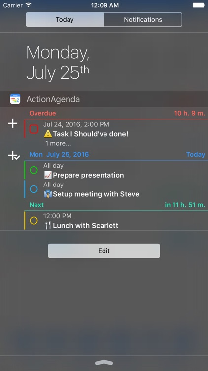 ActionAgenda screenshot-4