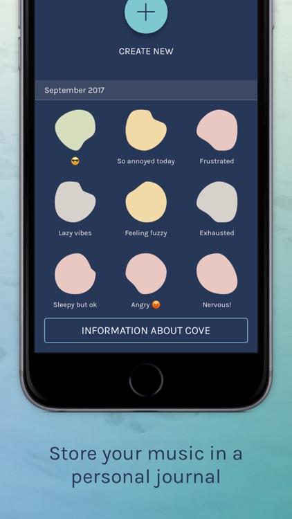 Cove: The musical journal screenshot-3