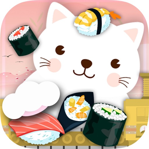 Cat 's sushi factory game