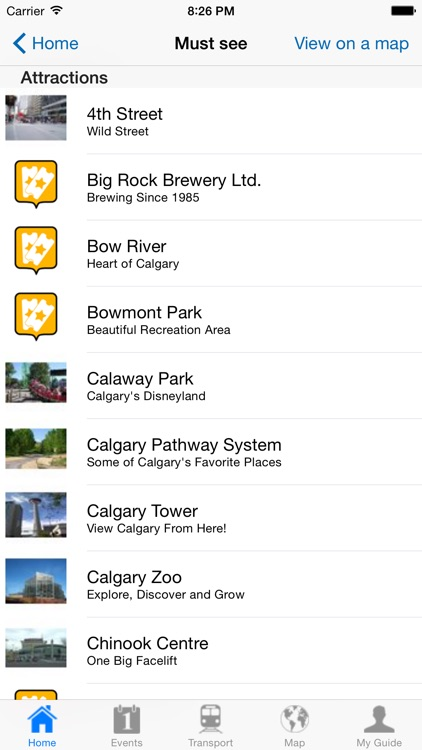 Calgary Travel Guide Offline screenshot-3